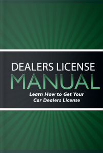 Dealer License Manual