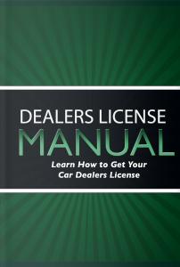 Dealer License Manual