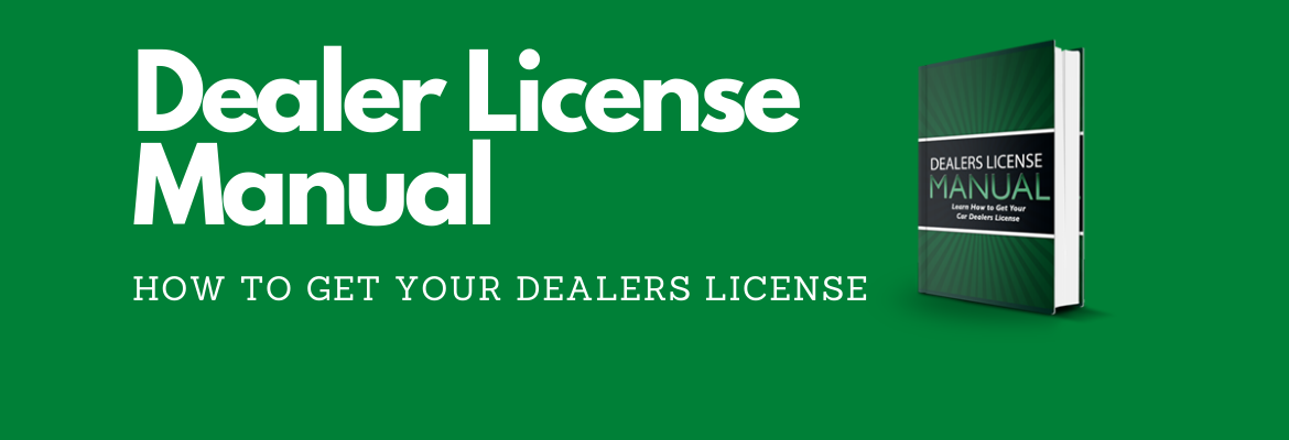 how to get a car dealer license